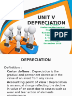 MG 6863 Engg. Economics Unit V Depreciation