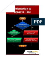 Orientation to Creative Test - DOM