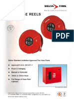 Delta Fire British Standard Institution Approved Fire Hose Reels
