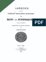 Numismatiek van Zierikzee / [M.G.A. de Man]