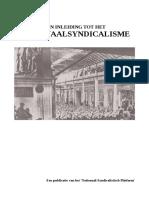 Inleiding tot het Nationaal Syndicalisme [2013]