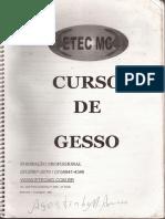 Apostila de Gesseiro