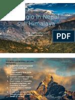 """Presentazione Power Point  """"Viaggio sull'Himalaya"""""""