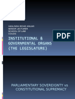 Chapter 3 - Legislature