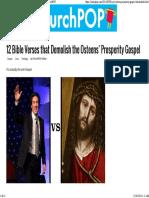 12 Bible Verses That Demolish the Osteens' Prosperity Gospel _ ChurchPOP