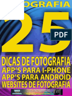 eBook 25 Dicas de Fotografia