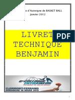 Livret Technique Benjamin Projet 1
