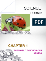 Chapter 1  science form 2