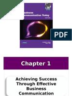 1 Achieving Success Through Effective Business Communication