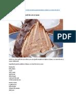 Prăjitură Cabana Cu Cremă de Unt Şi Cacao