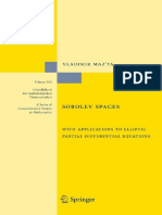 2997-Sobolev Spaces - With Applications to Elliptic Partial Differential Equations (2nd)