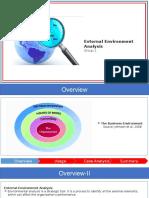 Presentation External Analysis