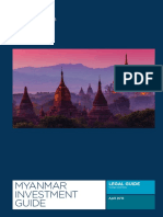 Myanmar Investment Guide Third Edition 2016 English Secured