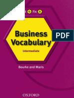 Bourke Kenna Maris Amanda Test It Fix It Business Vocabulary
