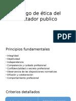 Código de Ética Del Contador Publico