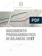 2016 10 15 Documento Programmatico Di Bilancio 2017-It