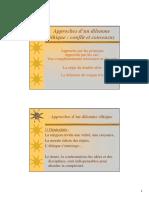 Approches D-un Dilemne -Thique _ Conflit Et Consensus (1)