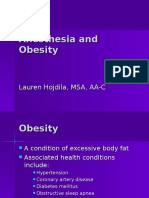 Anesthesia and Obesity (1)