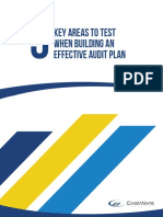 5 Key Areas to Test When Building an Effective Audit Plan