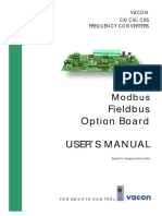 Vacon CX Modbus Board User Manual