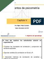 Cap 5 -Correlación