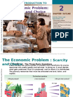 Microeconomics Chapter 2 - The Economic Problem Scarcity and Choice