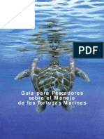 Sea Turtle Handling Guidebook- Spanish