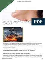 Dolor de Garganta - Causas y Remedios _ Dolordered
