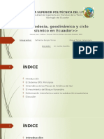 Geodesia, Geodinamica y Ciclo Sismico-Torres, Burgos
