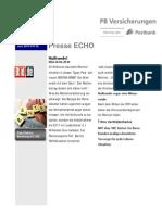 Presse Echo 25 Nullrunde