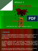 Modulo II Ligantes Asfalticoshugo Yapo 2016