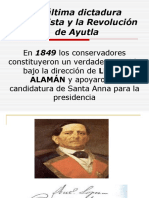 La dictadura de santana