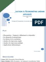Introduction a l'Econométrie linéaire appliquée.pdf