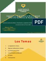 II.-importancia de La Mineria en El Desarrollo