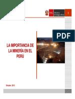 III.- Importancia de La Mineria