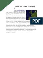 Vientos Ciclones y Anticiclones