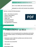 Practical Crptography