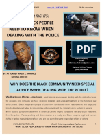 What Black People Need to Know When Dealing With the Police
