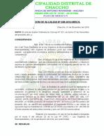 Resolucion de Alcaldia Aprobacion de Expediente Tecnico