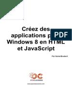 Creez Des Applications Pour Windows 8 en HTML Et Javascript