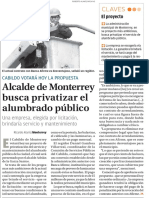 23-12-16 Alcalde de Monterrey busca privatizar el alumbrado público