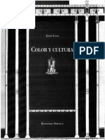 Gage, John - Color y Cultura