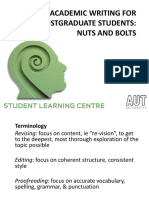 20160712 PG Study Smart Academic Writing Nuts and Bolts