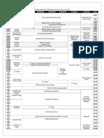Lifestyle Network Schedule (June-December 2016)