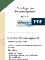 Grundlagen Hotelmanagement aktuell