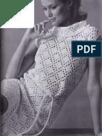 Crochet Openwork Dress Pattern - VINTAGE