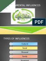 8.Environmental Influences