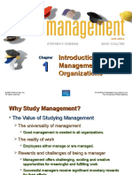 Chapter-1 Management-Intro to Management and Organization-Robbins