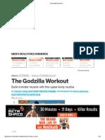 The Godzilla Workout