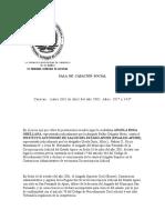SALA de CASACIÓN SOCIAL Contratado - Funcionario de Carrera